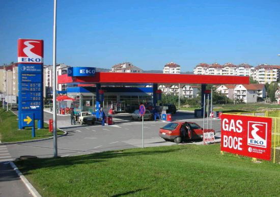 eko pumpe srbija mapa Eko Serbia (Hellenic Petroleum) benzinske pumpe u Srbiji   Retail  eko pumpe srbija mapa