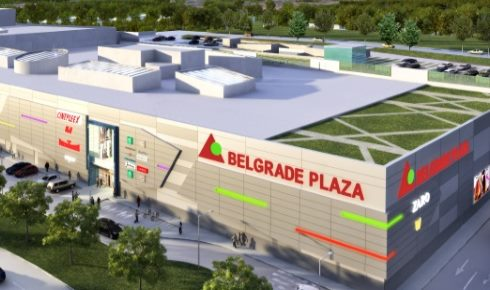 Belgrade Plaza maketa