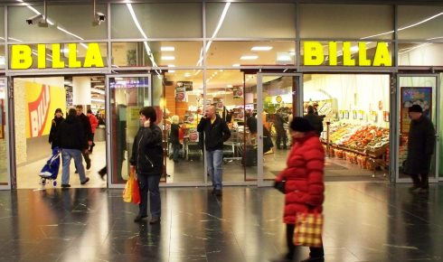 Billa supermarket