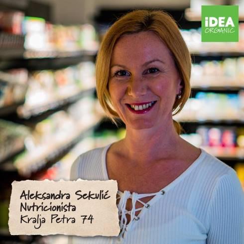 Idea organic Aleksandra Sekvic