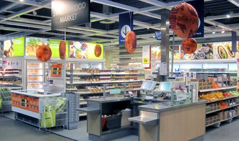 Ikea food market